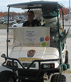 Sheriff golf car,